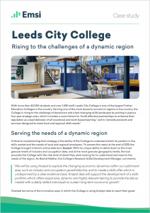 Free PDF to Download: Leeds City College — Rising to the Challenges of a Dynamic Region