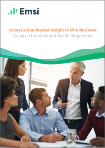 Using Labour Market Insight to Win Business — Focus on the Work & Health Programme