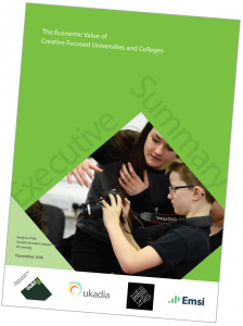 Case Study: The Economic Impact of Creative Focused Universities and Colleges
