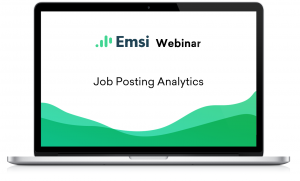 New Webinar: Join us for a Demonstration of our New Job Posting Analytics Data