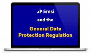 Emsi and Compliance With the General Data Protection Regulation