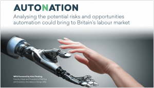 Major New Report From Emsi Analysing the Effects of Automation in Britain