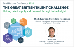 Introducing Our First Conference Speaker: David Corke, Association of Colleges