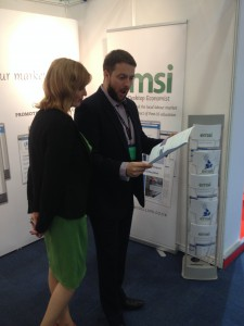 The EMSI Stand