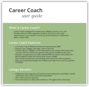 Career Coach User Guide