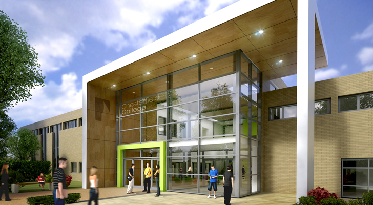 Chesterfield College Entrance