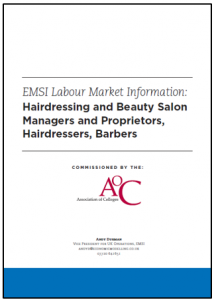 Hairdressing Report