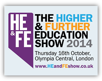 The Higher & Further Education Show Logo